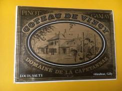 5042 - Pinot Gamay Côteau De Vinc< Domaine De La Capetannaz Louis Sauty Suisse - Autres