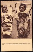 OLD CARD MISSIONS IN NORTH CANADA - ESKIMO BABIES - Card Perfect Condition - Rare ! - Canada