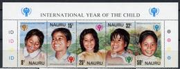 1979 - NAURU - Catg. Mi. 198/202 - NH - (R-SI.331.713 -  56) - Nauru