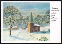 A6513 - Dennoch Künstlerkarte - Glückwunschkarte Weihnachten - P- Spencer - Mund Und Fuss Schaffenden 3208 - Künstlerkarten