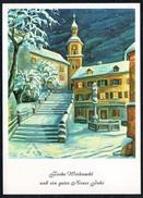 A6514 - Dennoch Künstlerkarte - Glückwunschkarte Weihnachten - Irene Schricker - Mund Und Fuss Schaffenden 1825 - Künstlerkarten