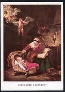 A6515 - Dennoch Künstlerkarte - Glückwunschkarte Weihnachten - Ch. Pasche - Engel Angel - Mund Und Fuss Schaffenden 845 - Künstlerkarten