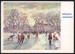 A6516 - Dennoch Künstlerkarte - Glückwunschkarte - P. Molevela - Mund Und Fuss Schaffenden 3344 - Künstlerkarten