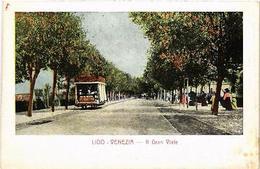 CPA Lido- VENEZIA Il Gran Viale. ITALY (523224) - Italie