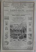 PUB 1885 - Conserve Alimentaire Rue Ste Colombe La Bastide Bordeaux, Rue Lavoisier Nantes, Usine St Eloy Orléans 45 - Advertising