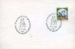 24561 Italia, Special Postmark  Velletri 1989 Battaglia Garibaldina,  140th Anniversary - Sonstige
