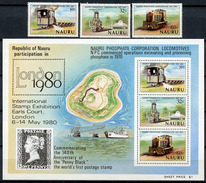 1980 - NAURU - Catg. Mi. 211/213 + BF 3 - NH - (R-SI.331.713 -  57) - Nauru