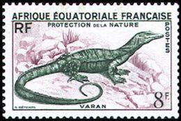 Africa Ecuatorial Francesa 231 ** MNH. 1955 - Nuevos