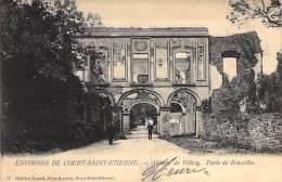 Environs De Court-Saint-Etienne. - Abbaye De Villrs. Porte De Bruxelles. - Verstuurd In 1905. - Court-Saint-Etienne
