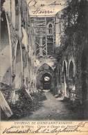 Environs De Court-Saint-Etienne. - Abbaye De Villrs. Cloître Et Choeur Des Moines. - Verstuurd In 1905. - Court-Saint-Etienne
