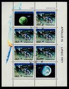 Polen Block 48 Apollo 15 Used Gestempelt - Blocks & Sheetlets & Panes