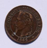 Monnaies France - Napoléon III 2 Centimes 1862 K - France