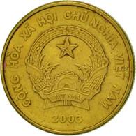 Viet Nam, SOCIALIST REPUBLIC, 1000 Dông, 2003, Vantaa, TTB, Brass Plated Steel - Viêt-Nam