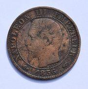 Monnaies France - 5 Centimes - Napoléon III  Tête Nue 1856 A - France