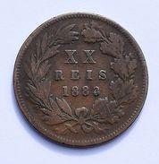 Monnaies  XX REIS - 1883 - Portugal - Monnaies