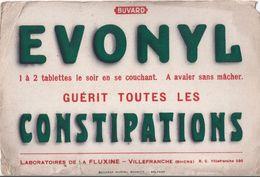 Buvard EVONYL CONSTIPATIONS - Produits Pharmaceutiques