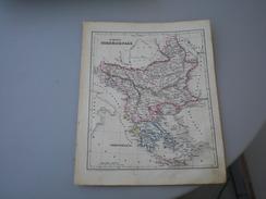 European Turkey Galletti J.G.A  1857 - Geographical Maps
