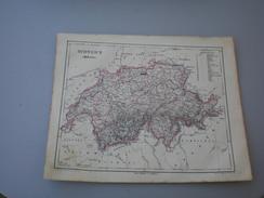 Schweitz Helvetia Galletti J.G.A  1857 - Geographical Maps