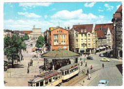 AUGSBURG - KONIGSPLATZ - VIAGGIATA 1965 - (1889) - Germania