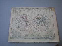 World  Galletti J.G.A  1857 - Cartes Géographiques