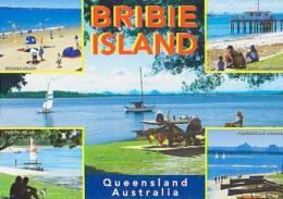 Australie         H46        Bribie Island.The Mysterious Glass House Mountains ( 5 Views ) - Australia