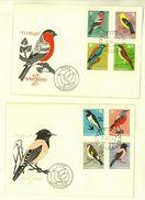 BULGARIA 1965 FAUNA Animals BIRDS - 2 FDC - FDC