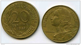 France 20 Centimes 1980 GAD 332 KM 930 - France
