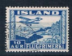 1934 Air 10 Aur SG 208 Perf 12 1/2 X 14 - 1918-1944 Administration Autonome