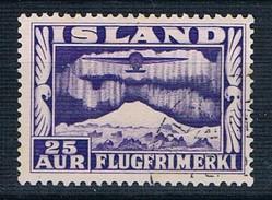 1934 Air 25 Aur SG 210 Perf 12 1/2 X 14 - 1918-1944 Administration Autonome