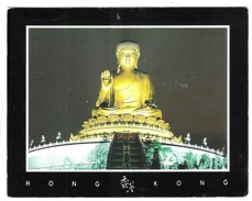 The Great Buddha Of Lantau Island - Hong Kong - 105 - VIAGGIATA 1996 - (422) - Formato Grande - Cina (Hong Kong)