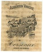 Rare // Association Vinicole Corseaux 1960, Vaud // Suisse - Etiquettes