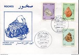 24379 Algerie,  Fdc  Mineral,  Mineraux 1999 - Minéraux