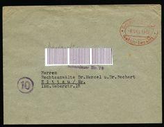 A4876) SBZ Brief Mit Barfrankatur Dresden A21 ? 8.10.45 - Sowjetische Zone (SBZ)
