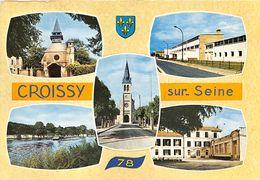 78-CROISSY-SUR-SEINE - MULTIVUES - Croissy-sur-Seine