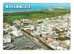 MOHAMMEDIA - VEDUTA AEREA - PIAZZA KASBAH   -  VIAGGIATA ANNI '80 - (964) - Marocco