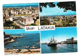 LATAKIA - SYRIAS  -  VIAGGIATA ANNI '80 - (983) - Syrie