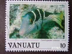 N°756 Michel - Poisson Canthigaster Cinctus - Vanuatu (1980-...)
