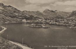 Suisse - St. Bernhardino-Pass Mit Berghaus - VS Valais