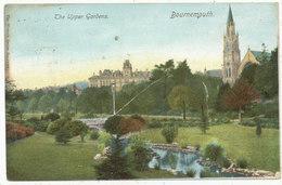 The Upper Gardens, Bournemouth, 1902 Postcard - Bournemouth (until 1972)