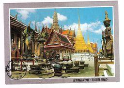 BANGKOK - THAILAND - WAT (TEMPLE) PHRA KEO - VIAGGIATA - (1075) - Tailandia