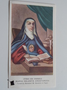 MARIA CELESTE CROSTAROSA (Fundatricis Monasteril SS. Salvatoris In Foggia) Effigies Vera Venerabilis ( Zie Foto's ) ! - Religione & Esoterismo