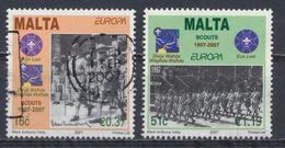 °°° LOT MALTA - Y&T N°1469/70 - 2007 °°° - Malta