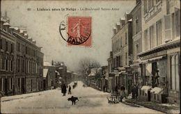 14 - LISIEUX - Sous La Neige - Lisieux