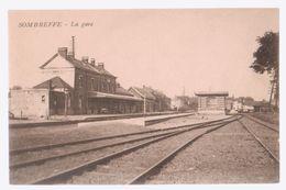 Cpa Sombreffe  Gare - Sombreffe