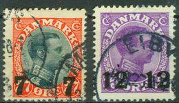 Nr. 157 -158 - Michel 15 € - 1913-47 (Christian X)