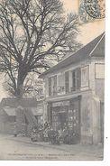 """77 CROISSY?- BEAUBOURG BELLE CPA """" 1904 """"LA MAISON DU PERE VéLO"""" (PUBLICITéS) - France"""