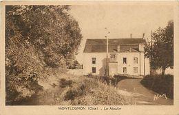 PIE 17-GAN-5657  : MONTLOGNON. LE MOULIN A EAU - Frankreich