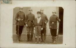 MILITARIA - Casque à Pointe - Armée Allemande - CARTE PHOTO - - Guerre 1914-18