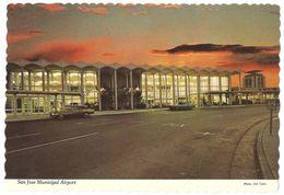San Jose - California - San Jose Municipal Airport - Classic Cars - San Jose