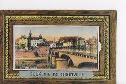 57 / SOUVENIR DE THIONVILLE CARTE A SYSTEME 10 MINI VUES / TBE - Thionville